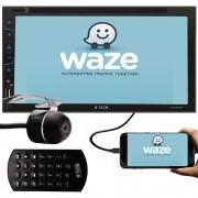 Multimídia H-Tech HT-4220TV DVD Espelhamento TV Digital Bluetooth USB SD Card + Câmera de Ré