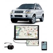 Multimídia Hyundai Tucson Espelhamento Bluetooth USB SD Card + Câmera Borboleta