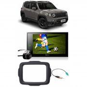 "Multimídia Jeep Renegade Pioneer DMH-ZS8280TV 8"" Polegadas TV Digital Bluetooth USB Espelhamento Android IOS"