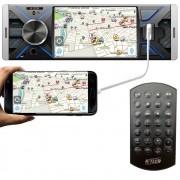 "Multimídia MP5 H-Tech HT-2420 1 Din 4"" Polegadas Espelhamento Bluetooth USB SD Card"