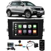 Multimídia Vw T-Cross PCD Pioneer DMH-ZS5280TV Tv Digital Bluetooth Interface Comando Volante + Chicotes + Câmera Ré Tartaruga