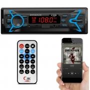 Rádio MP3 H-Tech HT-1020 Bluetooth USB Auxiliar