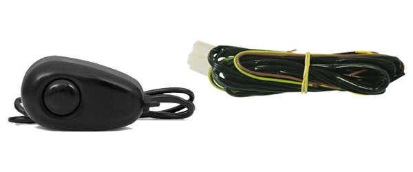 Kit Farol de Milha Neblina Ford Focus - 2009 / 2010 / 2011 / 2012 / 2013 - Interruptor Alternativo + Molduras Aro Cromo