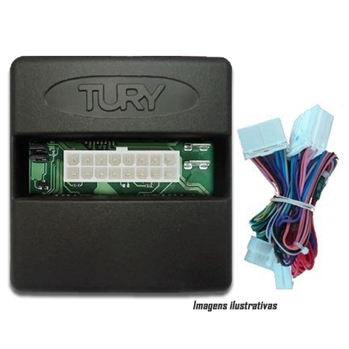 Módulo Original Subida De Vidro Tury Hyundai HB20 - Conector Original - Conector Original