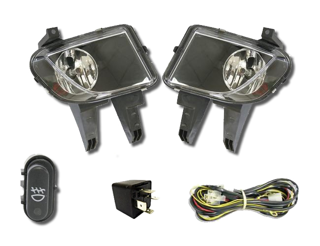 Kit Farol de Milha Neblina Gm Celta / Prisma 2006 / 2011 - Interruptor Original + Kit Xenon HB4 Com Reator Digital - 6000K ou 8000K