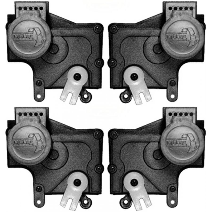 Kit Trava Eletrica Tragial Palio / Siena / Novo Uno / Celta / Prisma / Fiesta - Mono Serventia 4 Portas