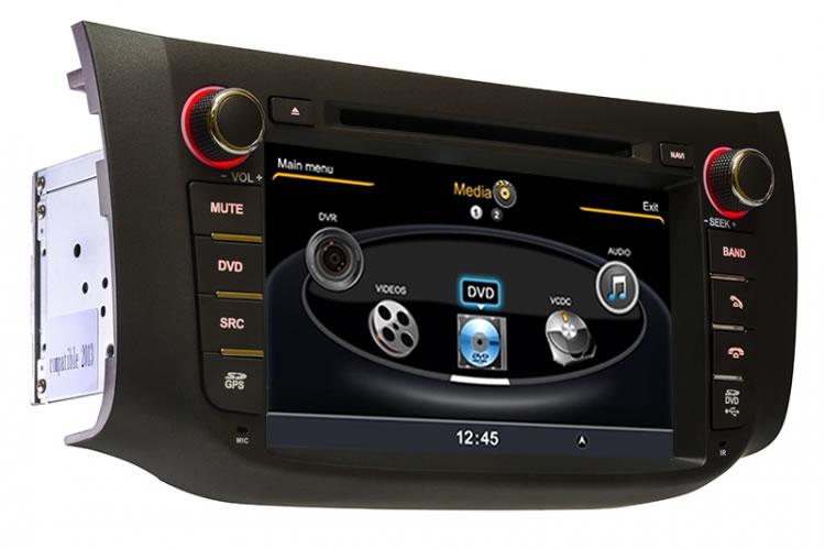 Central Multimidia Nissan Sentra 2015 2016 2017 Com DVD GPS Mapa Bluetooth MP3 USB Ipod SD Card Câmera Ré Grátis - Winca