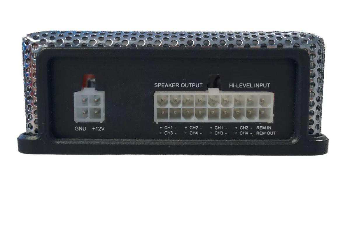 Modulo Amplificador Hurricane H 400.4D Mini 400w 4 Canais 2 Ohms Digital