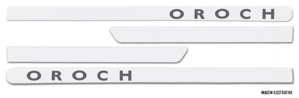 Jogo Friso Lateral Pintado Renault Oroch - Cor Original