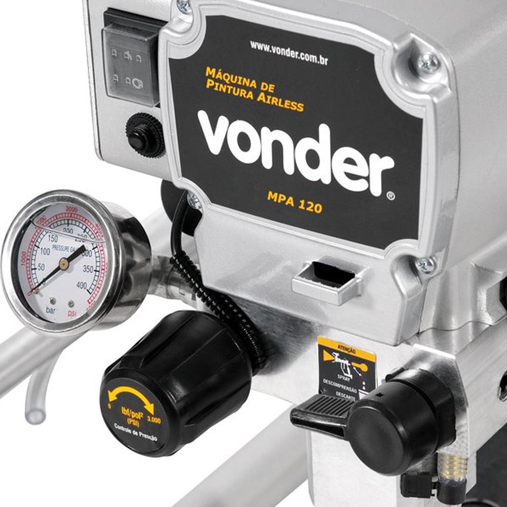 Máquina de Pintura Airless Vonder MPA120 900W 220V