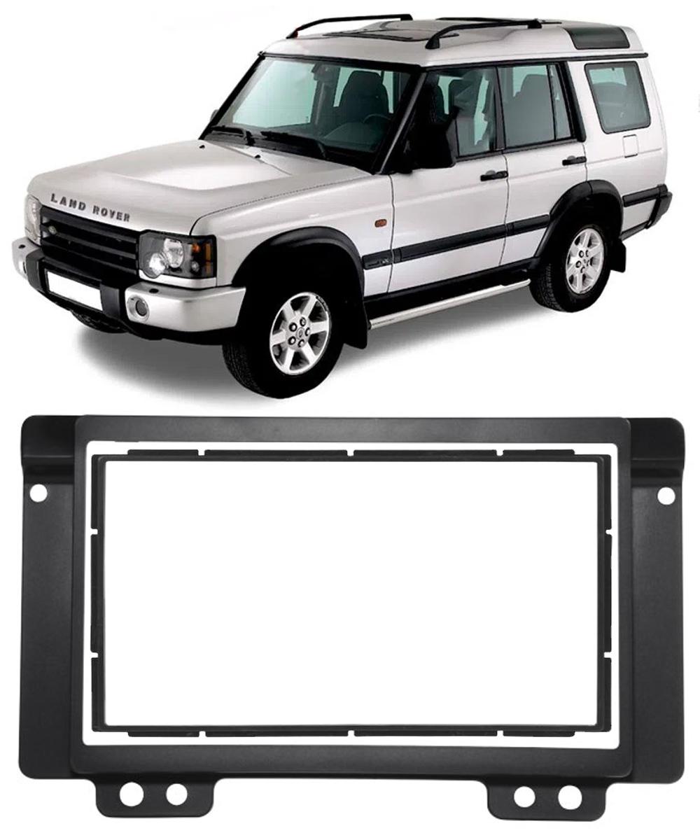 """Moldura de Painel 2 Din 7"""" Polegadas Land Rover Discovery 1 1994 à 2004"""