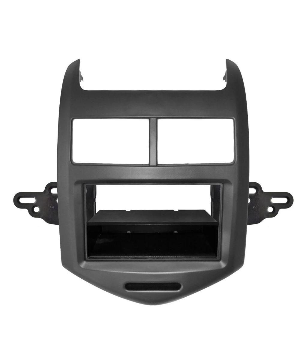 Multimídia Gm Sonic Hatch/Sedan Espelhamento Bluetooth USB SD Card + Moldura + Câmera Borboleta