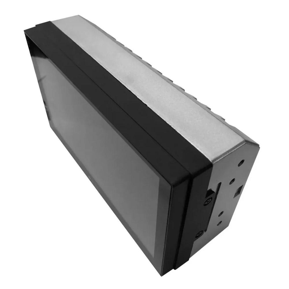 Multimídia Renault Kwid Espelhamento Bluetooth USB SD Card + Moldura + Câmera Borboleta + Adaptador de Antena + Chicotes