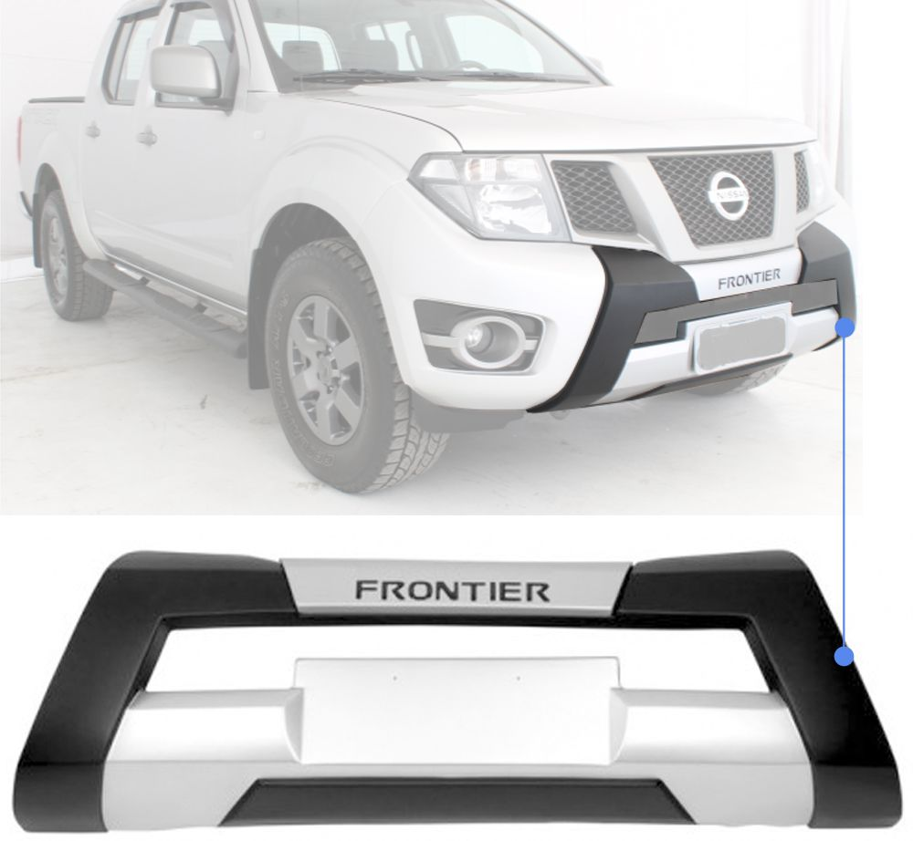 Overbumper Frontal Nissan Frontier 2013 2014 2015 2016