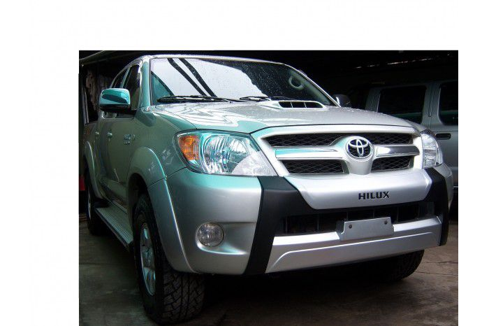Overbumper Protetor Frontal Toyota Hilux Cabine Dupla 2005 2006 2007 2008