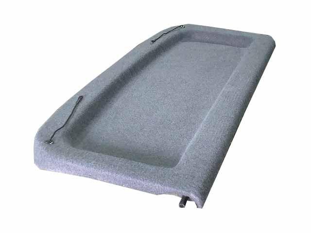 Tampão Porta Malas T-Cross Carpete Cinza Escuro Padrão Vw