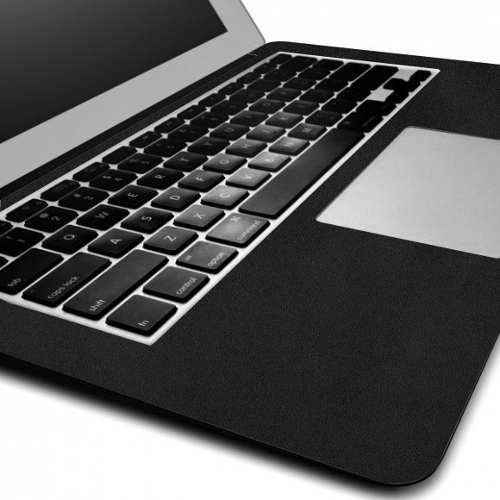 Capa Adesivo Skin Jateado Preto Macbook Air 13