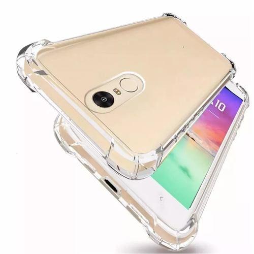 Capa Case Silicone Transparente Lg K10 Pro Anti Impacto