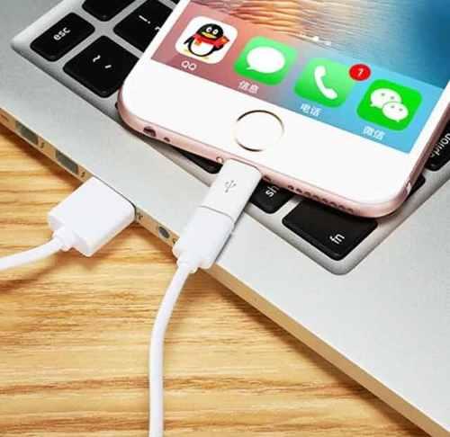 Adaptador Carregador Usb 8 Pinos Iphone X/7/8/6