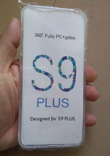 Capa Transparente Proteção 360 Graus Frente E Verso S9 Plus