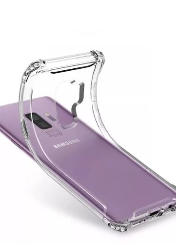 Capa Antichoque Samsung Galaxy S9 Transparente Tpu