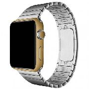 Adesivo Skin Premium Ouro Escovado Apple Watch 42mm Series 1