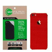 Skin Fibra De Carbono Para Iphone Para O 5/5s/se