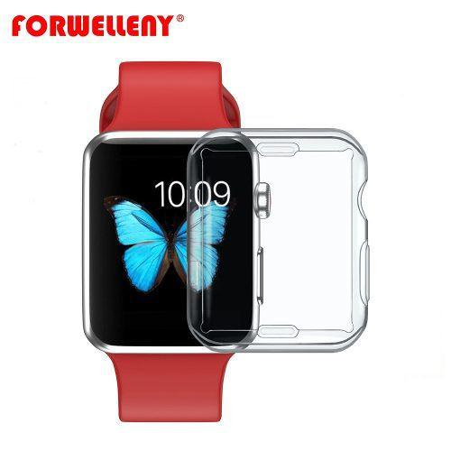 Capa Case Silicone Transparente Apple Watch Série 4
