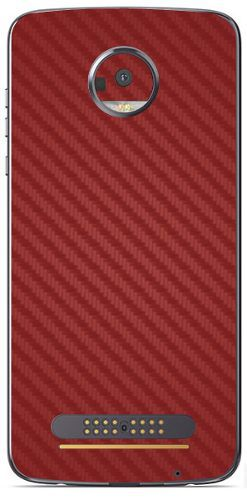 Adesivo Skin Premium - Fibra De Carbono Moto Z2 Play Skin Premium