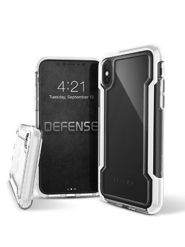 Capa Defense Clear Para Iphone X Branca X-doria
