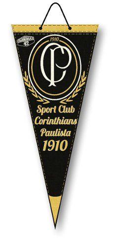 Flamula Decorativa Do Corinthians Vintage Aplicada Em Ps
