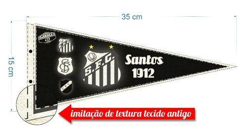 Flâmula Vintage Do Santos Futebol Clube Paulista