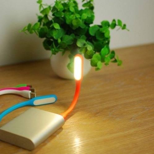 Mini Lâmpada De Led Com Entrada Usb Flexível Portátil