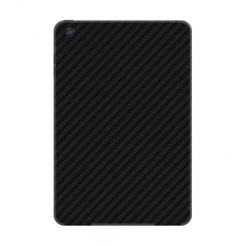 Skin Premium Adesivo Fibra De Carbono Preto Para Ipad Mini 3