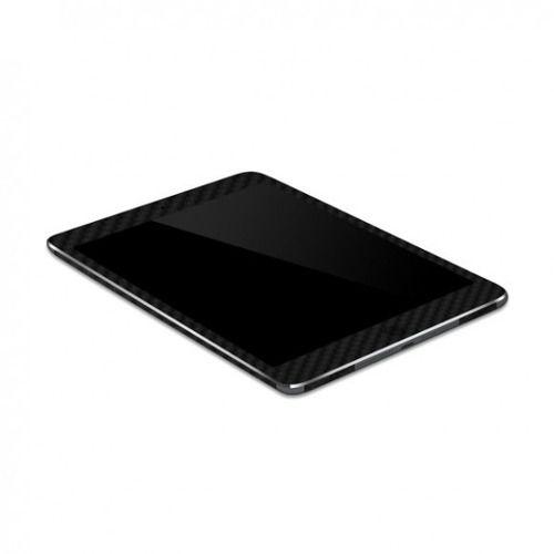 Capa Adesivo Skin Premium Fibra De Carbono Preto Ipad Mini 3