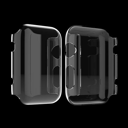 Capa Apple Watch 38mm Anti Choque Em Acrílico Transparente