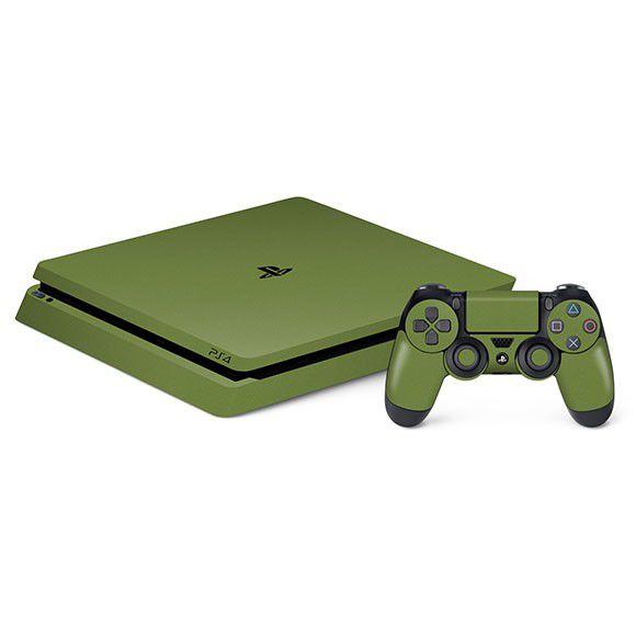 Adesivo Skin Jateado Fosco Playstation 4 Slim