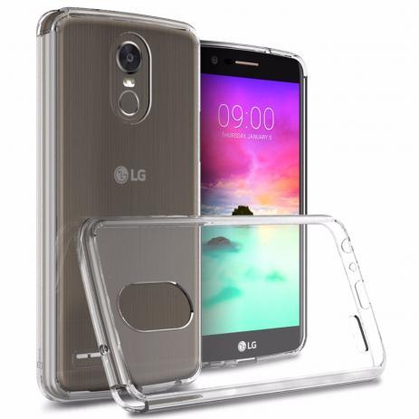 Capa Anti Choque TPU LG K10 Pro Transparente