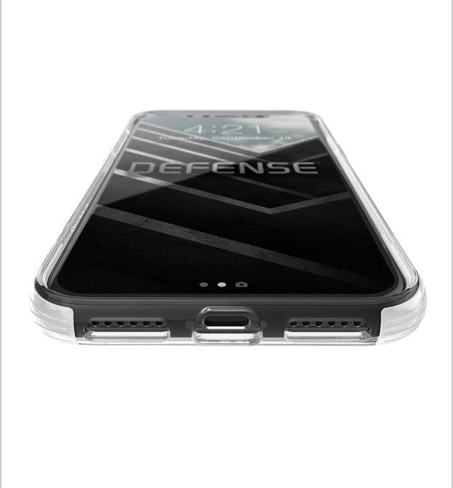 CAPA CASE ANTICHOQUE DEFENSE CLEAR PARA IPHONE X - X-DORIA