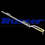 Alça RTU estéril Russer |Eletrodo monopolar de 2 hastes | tipo alça | reto | 22Fr