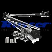 Endoscópio Rígido Autoclavável de Ø 4mm |Ângulo de Visão 0º | 302mm comprimento