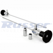 Endoscópio rígido Autoclavável hd | Ø 4mm | Ângulo de visão 30° | 302mm comprimento