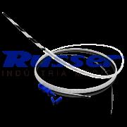 Fio Guia de Nitinol Russer | Ponta Reta | Listrado| Soft | Standard | 0,035
