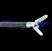 Pinça corte e apreensão alligator | mandibula serrilhada | dupla ação | 330mm | com cremalheira