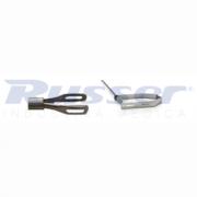 Pinça Extratora de Cálculo Rígida | Ø 7Fr | 2 garras | Fenestrada | 45cm comprimento