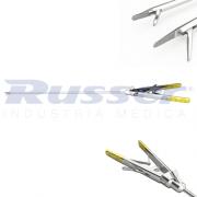 Porta Agulha Curva | tipo cortante | Ø 5mm | 330mm comprimento