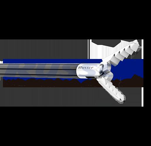 Pinça de corte e apreensão Alligator, mandíbula serrilhada, dupla ação, de 330mm, sem cremalheira