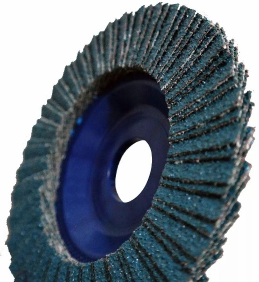 Disco De Lixa Flap 115 x 22,2mm Zirconio Grão 80 5 Peças
