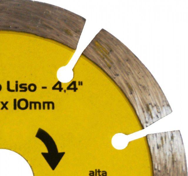 Disco Diamantado Segmentado Liso 110 X 20 X 10mm