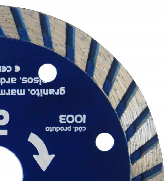 Disco Diamantado Turbo 110 X 20 X 10mm
